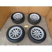 """BMW Z3 Roadster E36 #1100 OEM 16"""" Wheels & Tires Style 42 Cross Spoke"""