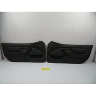 BMW Z3 Roadster E36 #1101 Black Door Panel Pair *Airbag Style*