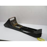BMW Z3 Roadster E36 #1101 Center Console Black /W Wood Trim COMPLETE
