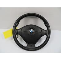 BMW Z3 Roadster E36 #1101 M Sport 3-Spoke Leather Steering Wheel & Airbag
