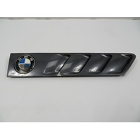 BMW Z3 Roadster E36 #1101 Hood Grill Gill Exterior Right Grey OEM