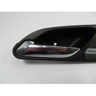 01-06 BMW M3 E46 #1102 Harmon Kardon Cover & Interior Door Handle Left