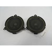 01-06 BMW M3 E46 Convertible #1102 HiFi Rear Speaker Pair 65138378557