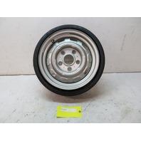 78-83 Porsche 911 SC Targa #1105 Spare Wheel & Tire 5.5 X 15