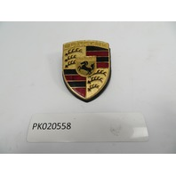 74-89 Porsche 911 SC Targa #1105 Emblem, Hood Crest Gold OEM