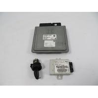 07 BMW Z4 E85 E86 #1106 Lock Set Ignition Engine ECU Immobilizer 3.0L N52