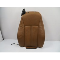07 BMW Z4 E85 E86 #1106 Seat Cushion Backrest, Heated Right Side Saddle Brown