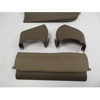 BMW 840ci 850i E31 #1107 Trim, Seat Switch Cover, Right Set Parchment Beige