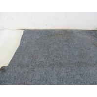 98 BMW Z3 M E36 #1109 Carpet, Trunk Floor Board Lining 2491062