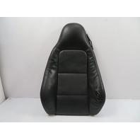 BMW Z3 E36 #1110 Seat Cushion, Backrest, Left Black