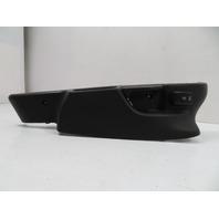 BMW Z3 E36 #1110 Seat Frame Track Cover Trim & Switch Right Black