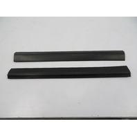 BMW Z3 E36 #1110 Trim Pair, Door Sill Carpet Holder Black 51478397547