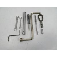 BMW Z3 E36 #1110 Tool Kit Screwdriver Spark plug Wrench Lug Tow Hook