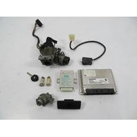 BMW Z3 E36 #1110 Lock & Key Set, ECU DME EWS Immobilizer Ignition M52