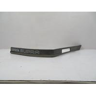 89 Toyota Supra MK3 #1111 Trim, Rear Quarter Moulding, Right 89-92 75653-14210
