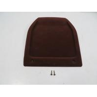 89 Toyota Supra MK3 #1111 Trim, Seat Back Cover, Maroon Cloth