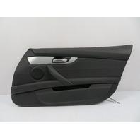 09 BMW Z4 E89 #1113 Door Panel, Right, Black