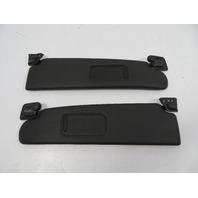 09 BMW Z4 E89 #1113 Sunvisor Pair, Black
