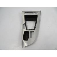 09 BMW Z4 E89 #1113 Trim, Center Console Shifter Bezel, Brushed Aluminum 9150236