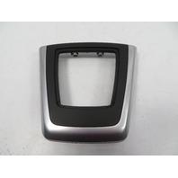 09 BMW Z4 E89 #1113 Trim, Shifter Cover Bezel 9150238