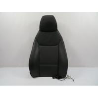 09 BMW Z4 E89 #1113 Seat Cushion, Backrest Heated Black, Right 7213912