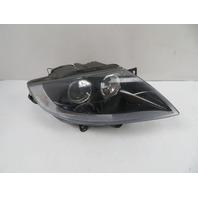07 BMW Z4 E85 #1114 Headlight, Halogen, Right Black / Clear