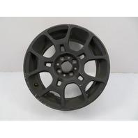 12 Fiat 500 #1116 Wheel, 16 x 6.5 OEM Black 1UF17TRMAA (1)