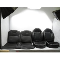 07 Mini Cooper S R56 #1117 Seat Cushion Set, Front/Rear, Black Sport/Heated (T8E1)