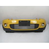 07 Mini Cooper S R56 #1118 Bumper Cover Complete, Front, Mellow Yellow 7147854