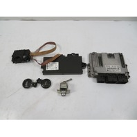 07 Mini Cooper S R56 #1118 Lock Set, Immobilizer CAS 3, ECU, DME, Ignition N14