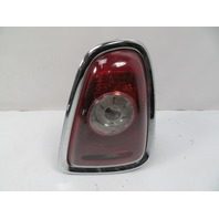07 Mini Cooper S R56 #1118 Taillight W/ Chrome Trim, Right 2751308