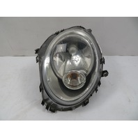 07 Mini Cooper S R56 #1118 Headlight, Halogen, Left