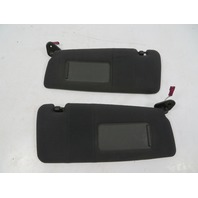 03 BMW M3 E46 #1119 Sunvisor Pair, Black Cloth