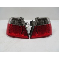 03 BMW M3 E46 #1119 Taillight Set, LED Aftermarket Angel Eyes