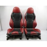 BMW Z3 M E36 #1120 Sport Seats, Power Heated Nappa Black / Imola Red