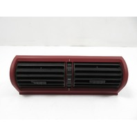 BMW Z3 M E36 #1120 Vent, A/C Heat Center Dashboard, RED 64228397713