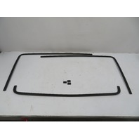 88 Porsche 928 S4 #1122 Trim Set, Hatch Trunk 6PC Moulding