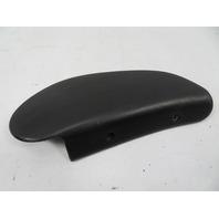 87 Porsche 928 S4 #1123 Trim, Seat Backrest Hinge Cover Black 911 944 92852114702