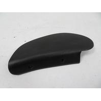 87 Porsche 928 S4 #1123 Trim, Seat Backrest Hinge Cover Black 911 944 92852114802