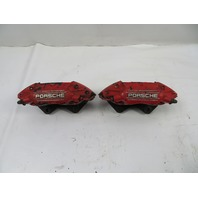 87 Porsche 928 S4 #1123 Brake Caliper Pair, Rear Brembo 944 Turbo 951