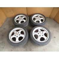 87 Porsche 928 S4 #1123 Wheels & Tires, Mille Miglia Cup 2 17x9 17x7.5