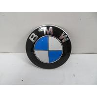 02 BMW Z3 M Roadster E36 #1124 Emblem, 82mm Genuine Hood 51148132375