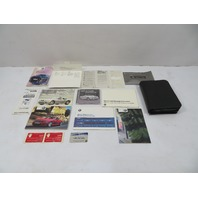 02 BMW Z3 M Roadster E36 #1124 Owner's Manual Case & Supplements Books