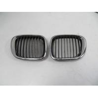 02 BMW Z3 M Roadster E36 #1124 Grill Pair, Hood Kidney OEM