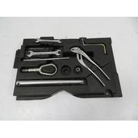 02 BMW Z3 M Roadster E36 #1124 Tools Kit & Shelf Wrench Tow Lug Wrench 51712268656