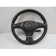 01 Lexus IS300 #1125 Steering Wheel & Airbag, Black Leather