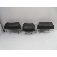 01 Lexus IS300 #1125 Headrest Set, Rear, Black Leather