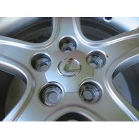 01 Lexus IS300 #1125 Wheel, 17x7 Silver OEM 42611-53450 (2)