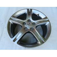 01 Lexus IS300 #1125 Wheel, 17x7 Silver OEM 42611-53450 (3)