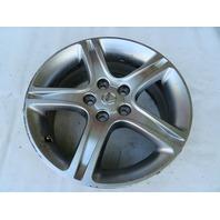 01 Lexus IS300 #1125 Wheel, 17x7 Silver OEM 42611-53450 (4)